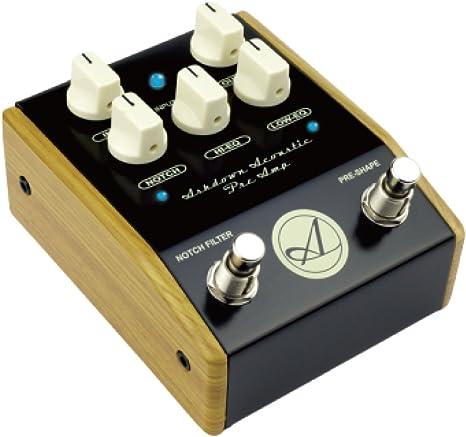 Ashdown AA-PEDAL - Pedal preamplificador para guitarra acústica ...