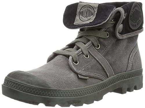 Palladium Pallabrouse Baggy - Zapatillas Mujer, Gris Oscuro, EU 38: Amazon.es: Zapatos y complementos