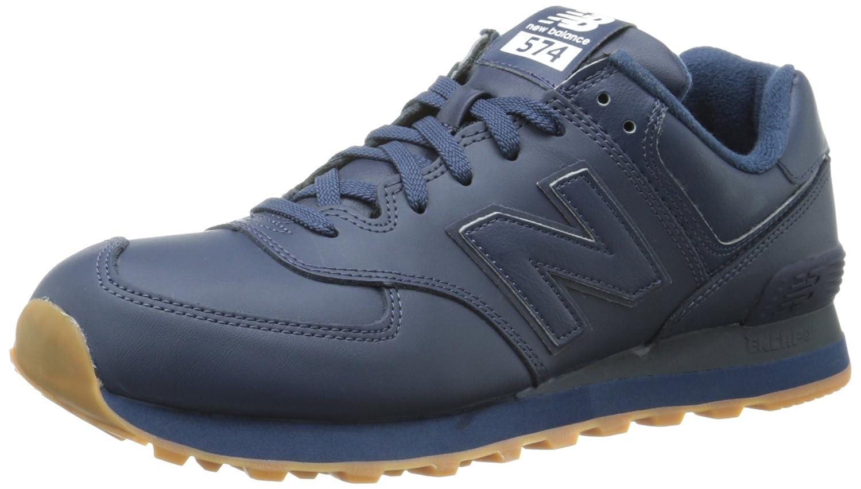 online store 0dbd1 72600 Amazon.com | New Balance Men's NB574 Leather Pack Running ...