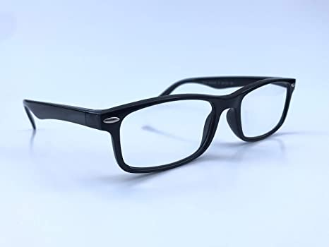 69684eee52f3 Amazon.com : NEARSIGHTED Glasses for Seeing Distance Myopia Black Negative  Minus Power -3.50 : Beauty