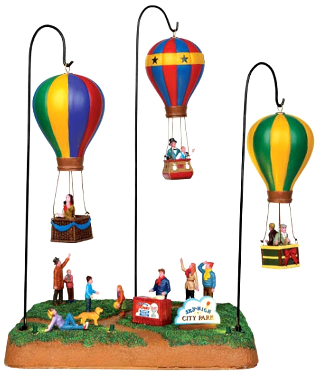 Lemax Village Collection Sky-High Park with Adaptor   44763 by Lemax