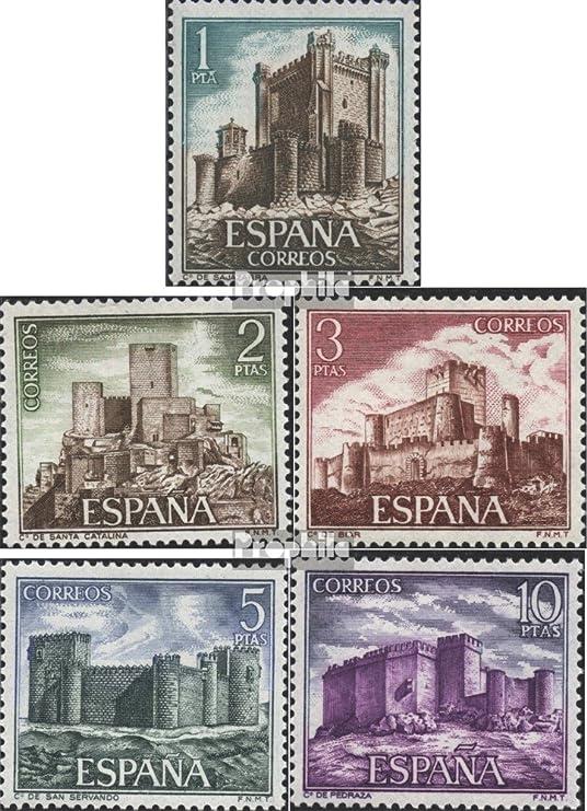 Prophila Collection España Michel.-No..: 1988-1992 (Completa.edición.) 1972 Castillos (Sellos para los coleccionistas): Amazon.es: Juguetes y juegos