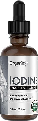Organixx - Iodine - Pure Liquid Iodine Supplement - 1 fl.