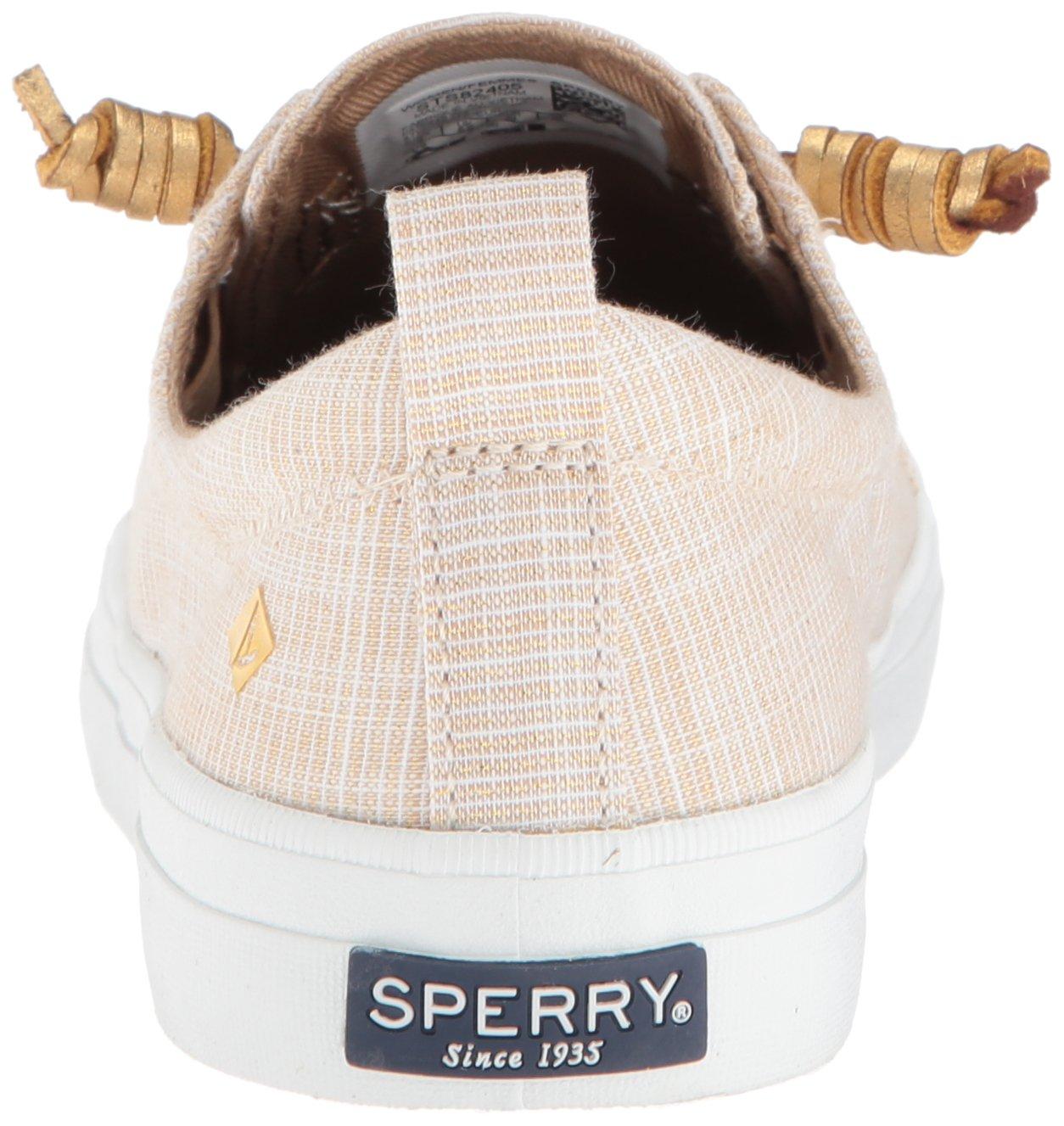 Sperry Top-Sider Women's Crest Vibe Metallic Novelty US|Gold Sneaker B07888BS6D 6 B(M) US|Gold Novelty b1a174