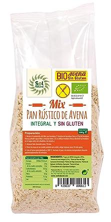 Sol Natural Mix para Hacer Pan, sin Gluten - Paquete de 6 x 500 gr - Total: 3000 gr