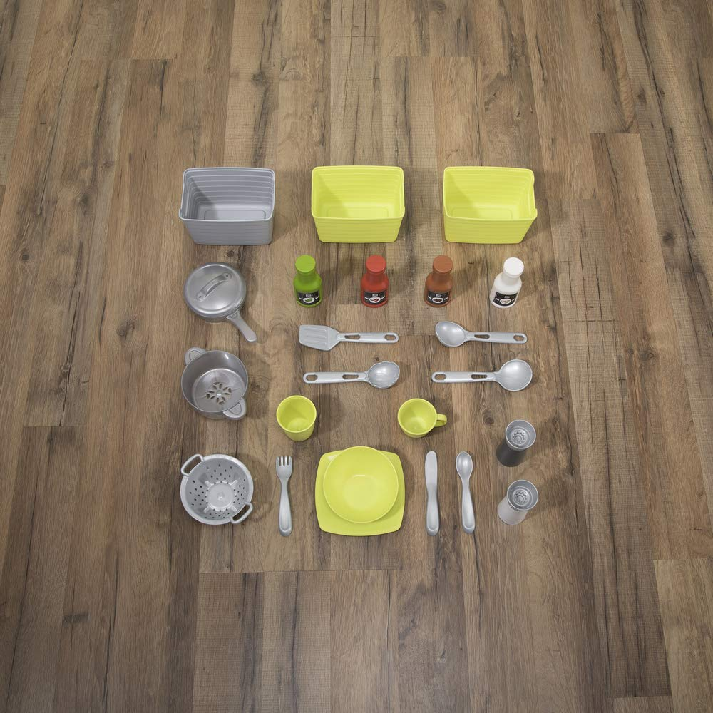 Step2 Downtown Delights Kitchen Kids Playset, Gray by Step2 (Image #6)