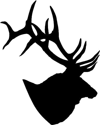 Under Armour Vinyl Decal Window Sticker Deer Antlers Horns Hunting Fishing