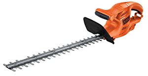 Black + Decker GT4245-GB Hedge Trimmer (420-Watt, 45cm, Orange, Plastic)