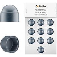 25 piezas capuchones para tornillos M5 (para llave 8) antracita protectores para tornillos tapón tapas tapón de tubo