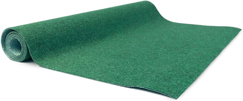 Kunstrasenteppich für Terrasse Rasenteppich Farbwunder Pro 8 x ...