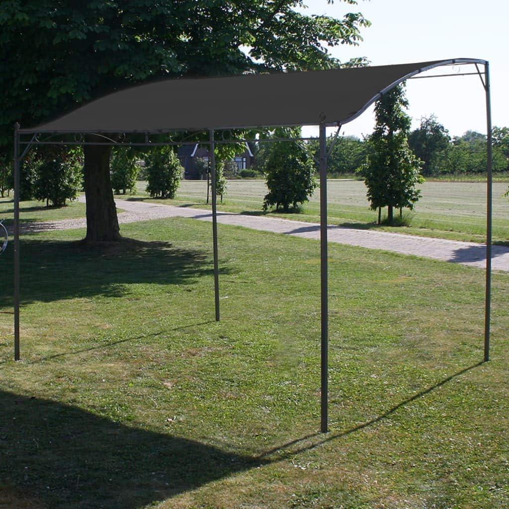 Goliraya Toldo Parasol Gris Antracita 3x2,5 cm Cenador de Jardín y Toldo