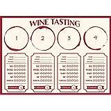 Sip Sip Hooray Wine Tasting Placemats (24ct)