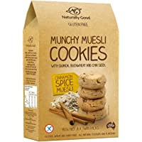 Naturally Good Munchy Muesli Cookies - Cinnamon Spice Muesli, 160 Count