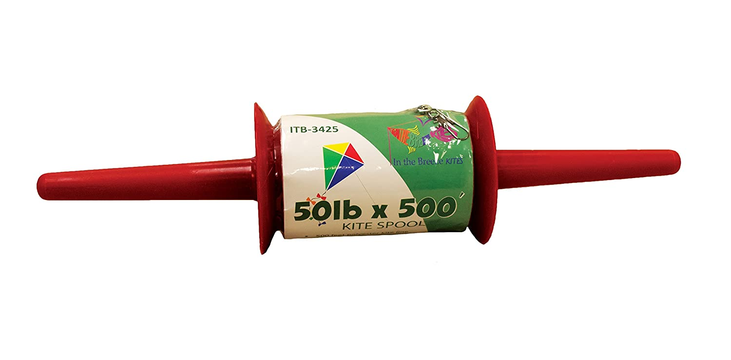 In the Breeze Best Selling Kite Spool - 50 LB x 500 Feet - Twisted Kite Line
