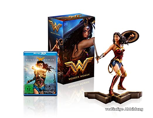 Wonder Woman Ultimate Collector's Edition (Steelbook + Wonder Woman Sammlerfigur) (exklusiv bei Amazon.de) [Blu-ray]