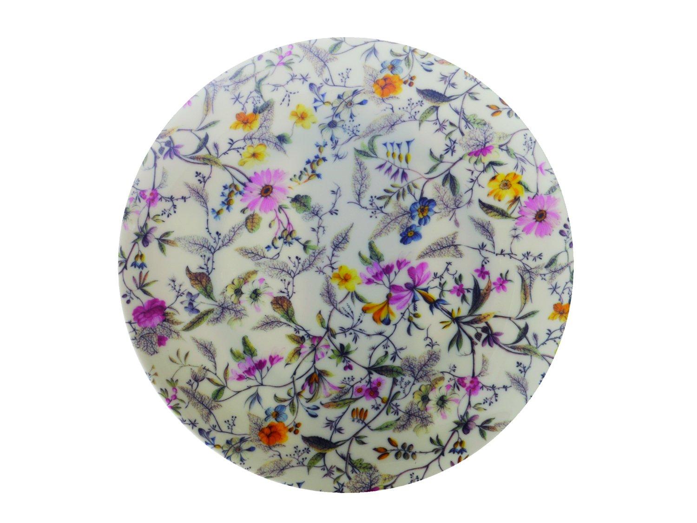 Maxwell & Williams WK03520 Bone China Kilburn, Piatto Summer Blossom in porcellana, 20 cm, Multicolore (Mehrfarbig)
