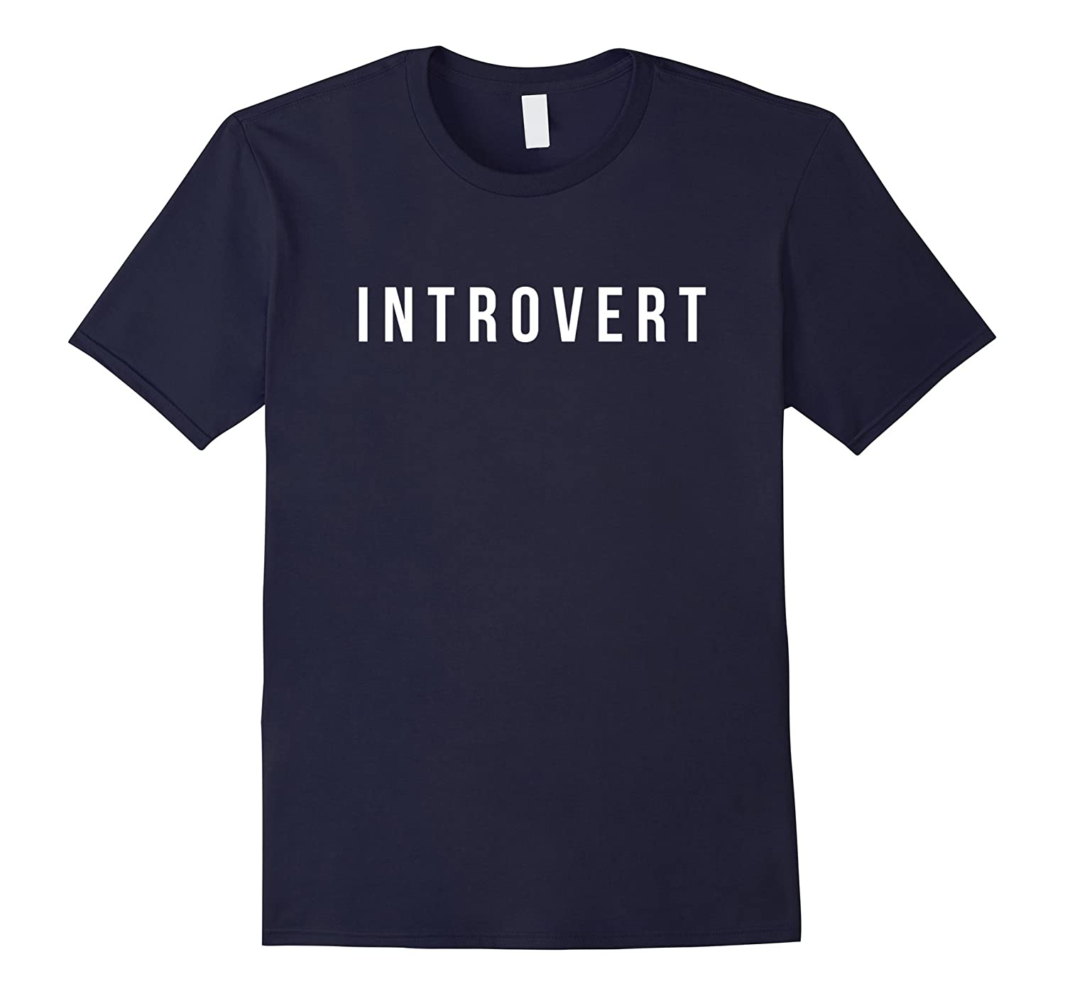 Funny Introvert T-shirt-ah my shirt one gift