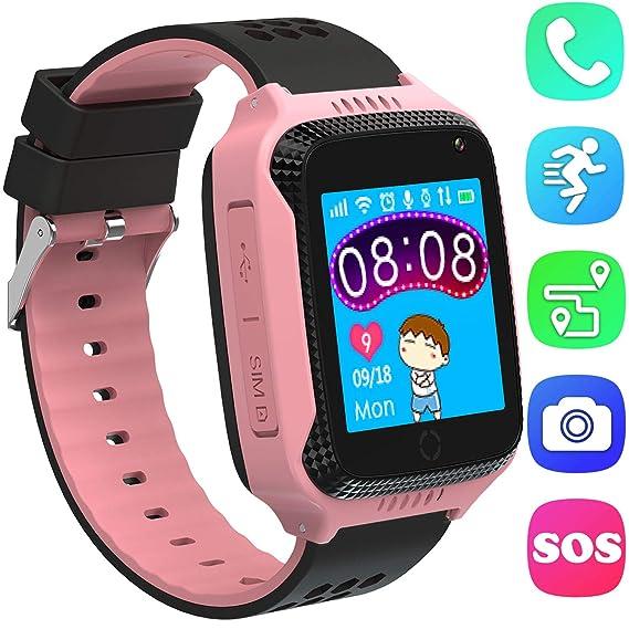 "Kids Smart Watches with SIM Card Slot- 1.44"" GPS Tracker Wrist Smart Watch Phone"