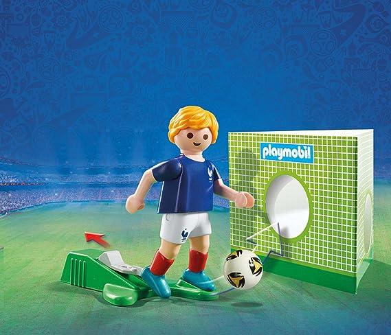 Playmobil Fútbol- Jugador Francia Muñecos y Figuras, Multicolor, 4 ...