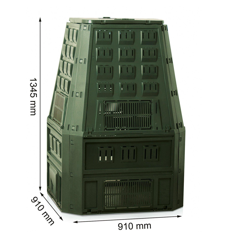 Prosperplast Compostaje 19552 IKST800Z 800 litros Verde ...