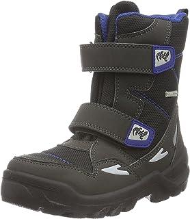 Lurchi Jungen Barney-Tex Hohe Sneaker, Grün (Dk.Petrol), 38 EU