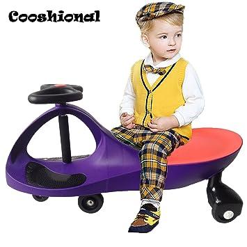 Cooshional Niños Swing Car correpasillos con Patinete, Bebés ...