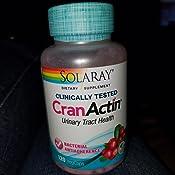 Amazon Com Solaray D Mannose With Cranactin Cranberry