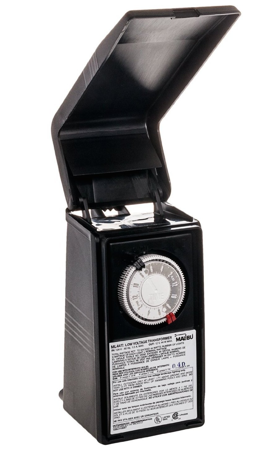 Malibu Intermatic Ml44t 44 Watt Low Voltage Lighting Timer