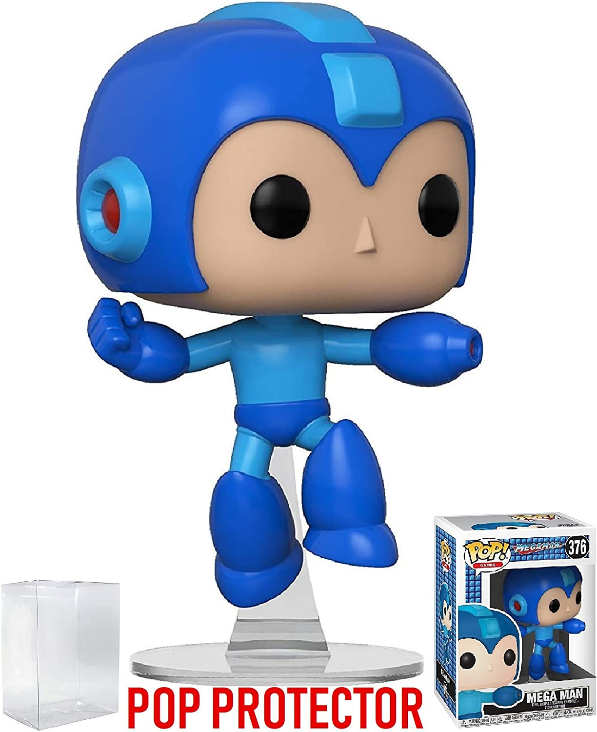 Brand New In Box Jumping Megaman Funko Pop Games: Megaman