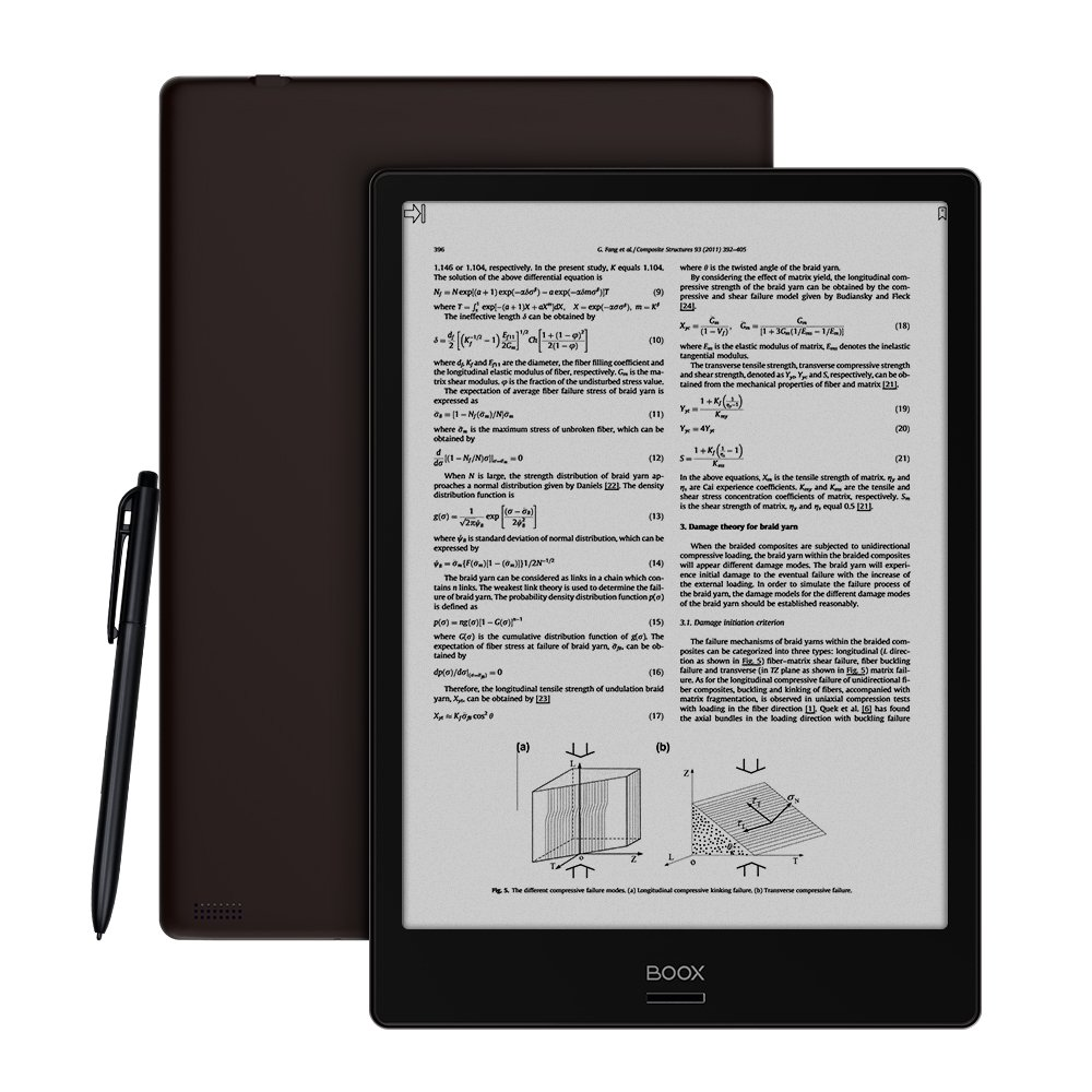 BOOX Note Ereader,Android 6.0 32 GB 10.3'' Dual Touch HD Display, Handwriting Search