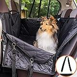 ペット用ドライブシート 車用ペットシート 安全ベルト付き 防水 滑り止め-洗濯可-全車種全ペット対応(ペットクルーズ)