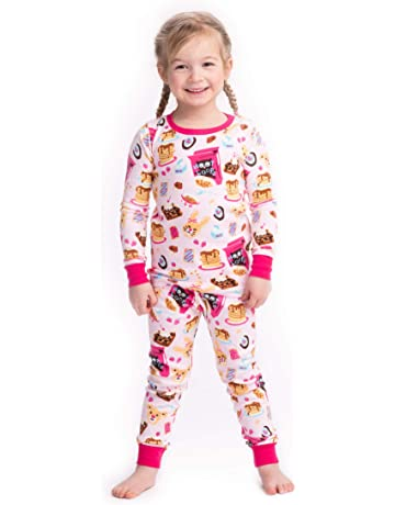 91de0a9a5e Hatley Girl s Organic Cotton Long Sleeve Printed Pyjama Sets