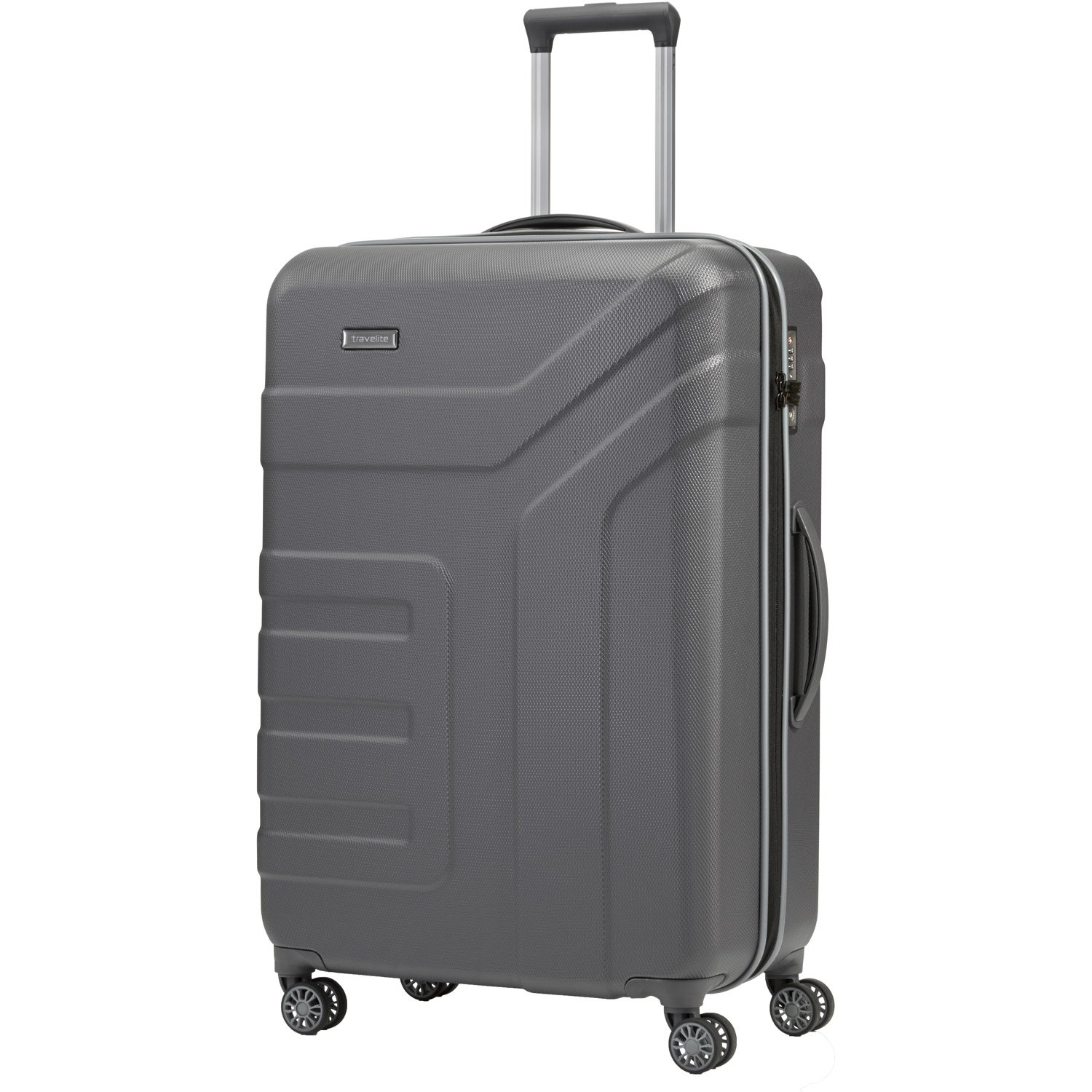 Travelite Trolley Vector with 4 wheels Size L in brown Valise, 77 cm, 103 liters, Marron (Brown)