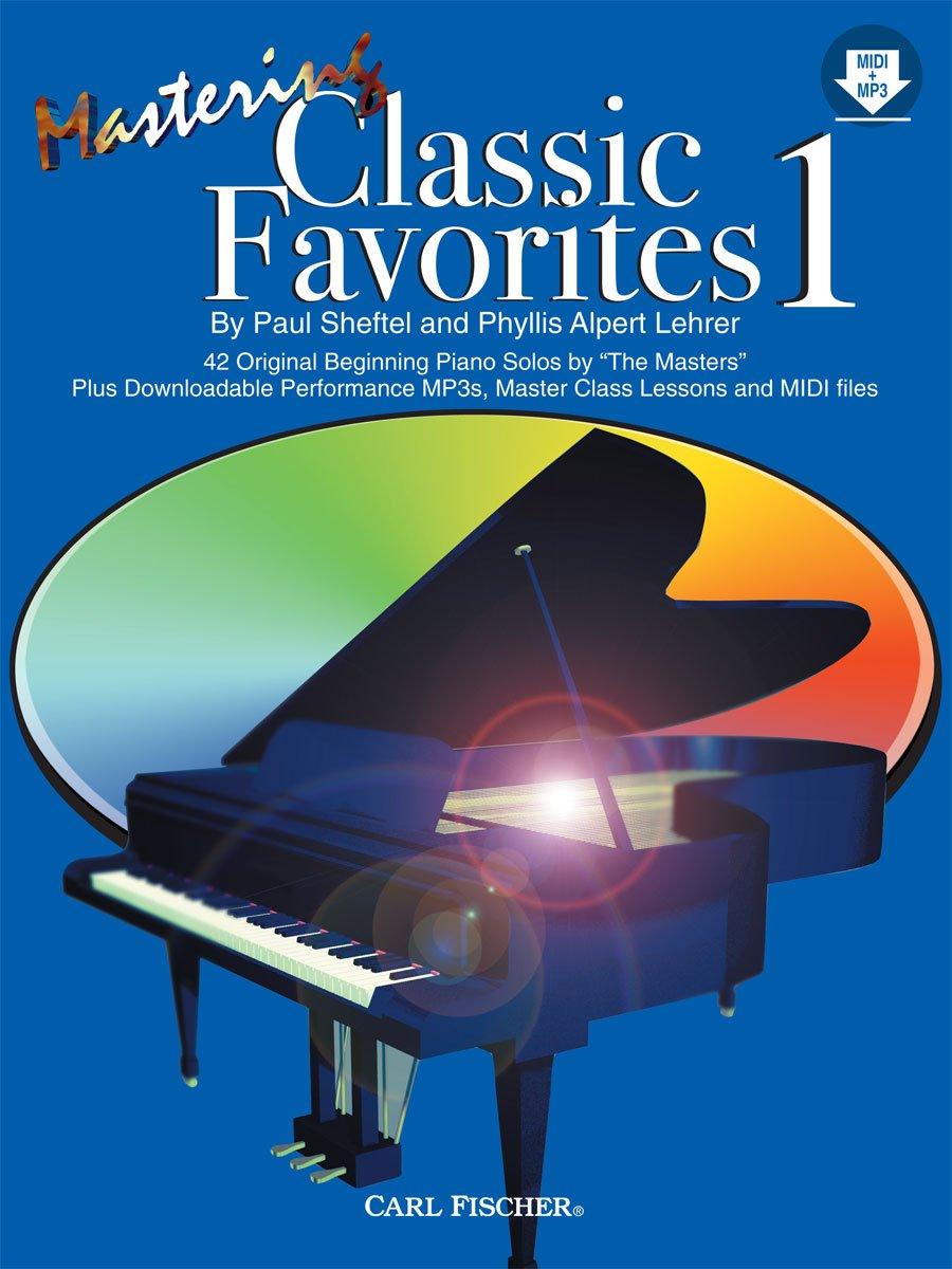 PL1201 - Mastering Classic Favorites-BK1/MP3: Paul Sheftel
