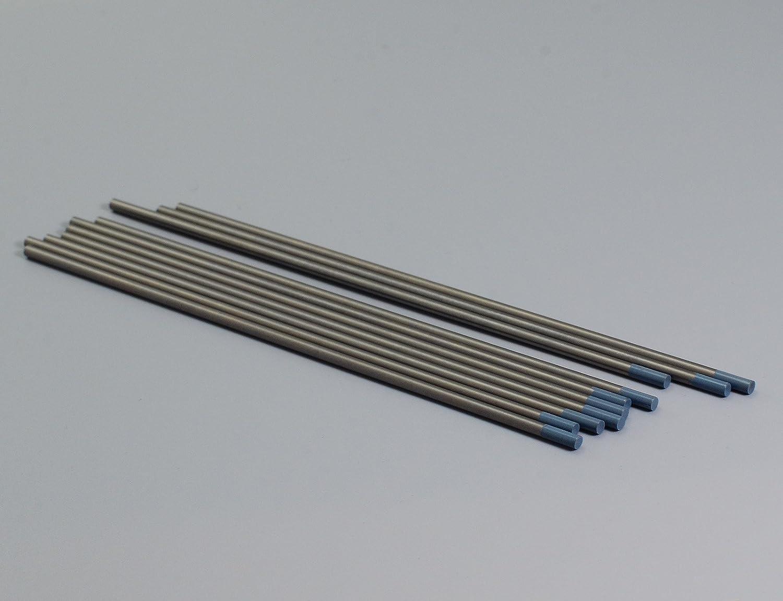 2/% Ceriated WC20 Grey TIG Welding Tungsten Electrode Pack of 10 1//8x6 /& 3.2mmx150mm 10PK