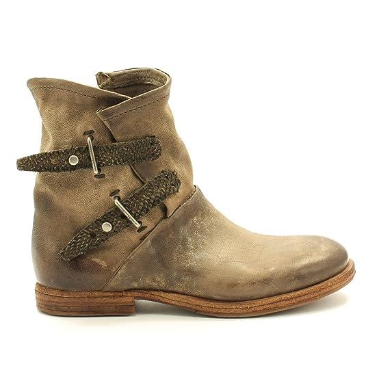 A.S.98 TROPMETAL - Botines Vaqueros para Dama -/ Botas de Motociclista - 518206-1010 - 6269 RINO, 40: Amazon.es: Zapatos y complementos