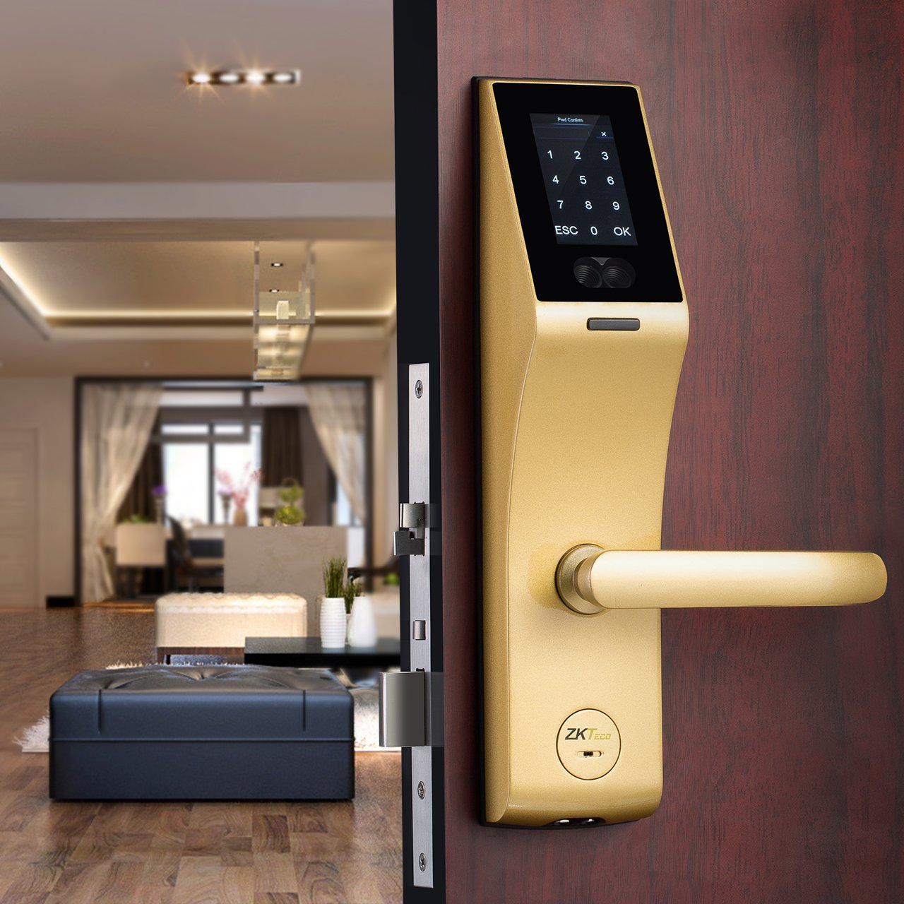 Pin By On Medical Automation Door Automatic Lock System With 805189c5189c52 Microcontroller Zkteco Fl1000 New Concept Face Recognition Card Mechanical Key Support Query Open Logs Usb Flash Disk Amazoncom