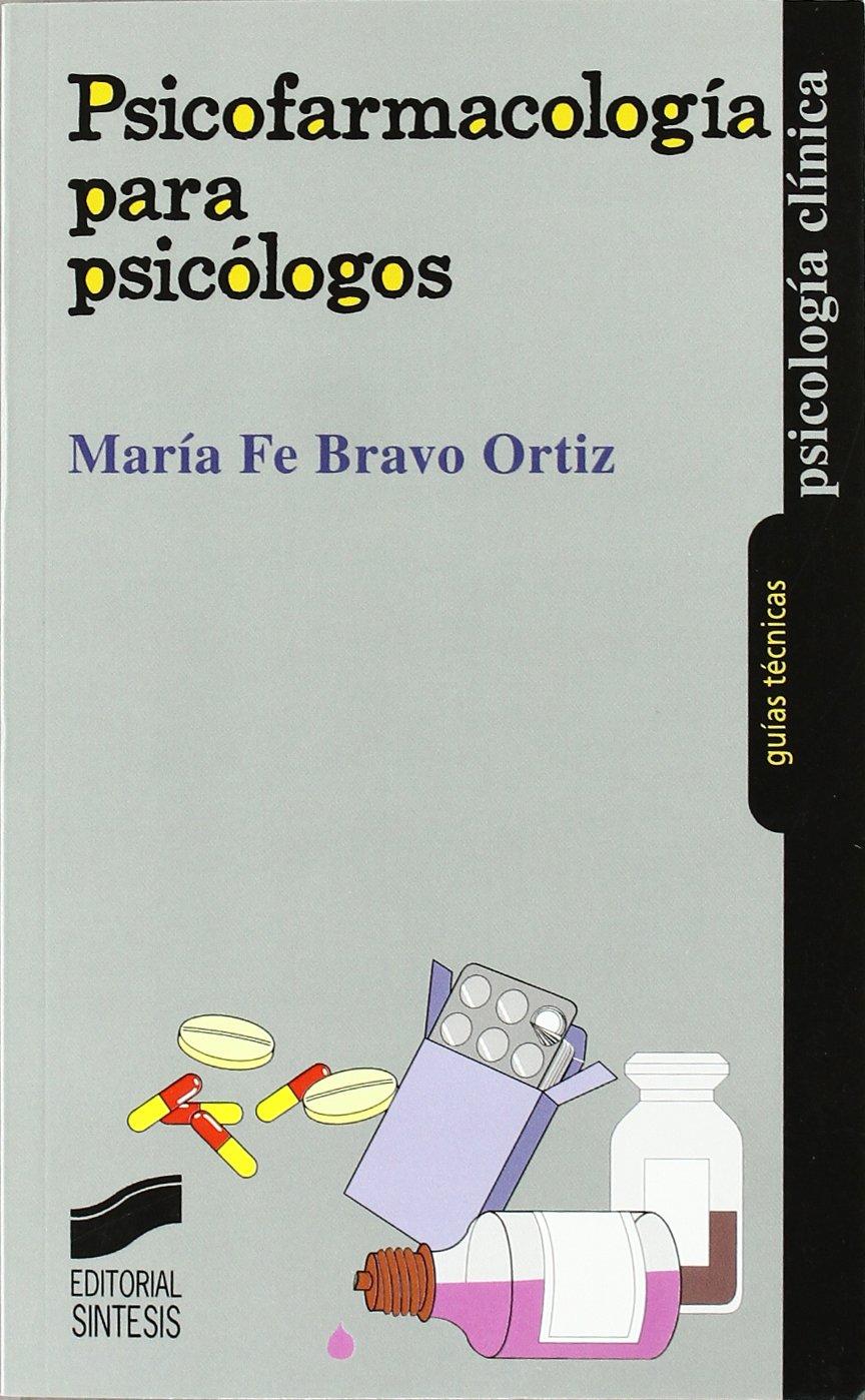 [PDF] Psicofarmacología para Psicólogos. Libro, descarga gratis.