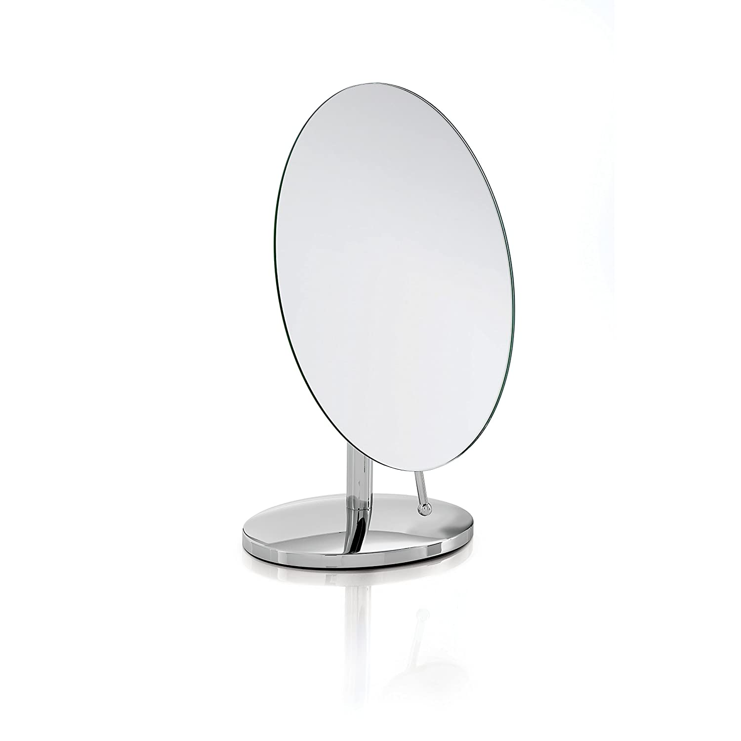 Robert Welch Oblique Stainless Steel Bathroom Pedestal Mirror ...