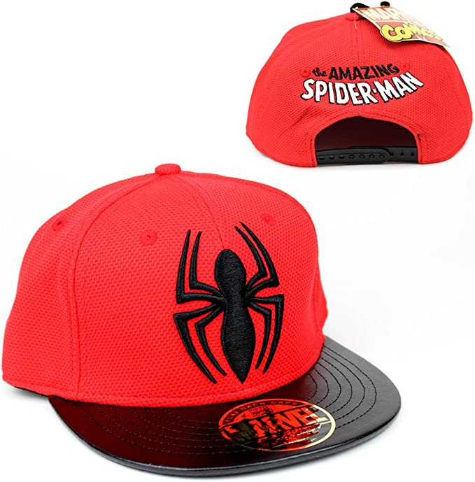 Spiderman Marvel Comics Hombre Gorra – The Amazing Spider-Man Logo ...