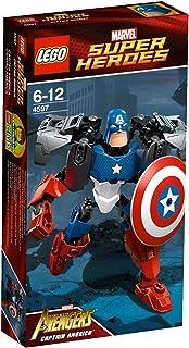 lego super heroes 4597 jeu de construction captain america