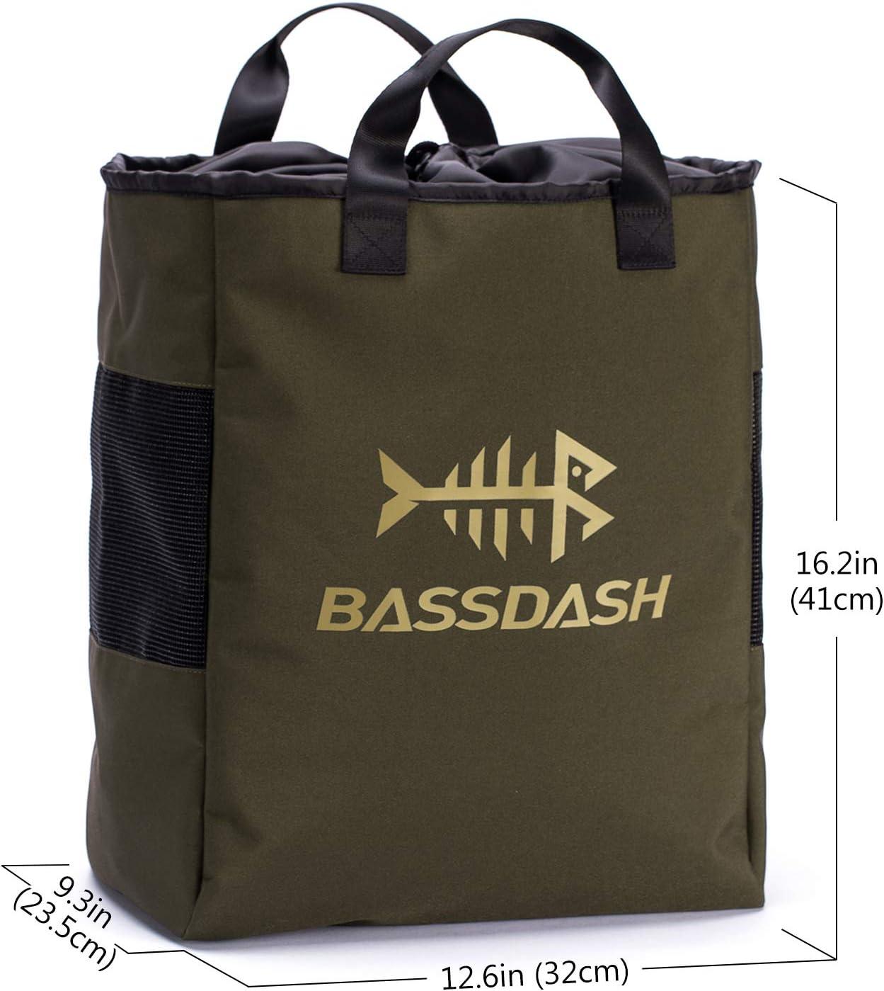 Bassdash Sac /à Chaussures en Maille ventil/ée