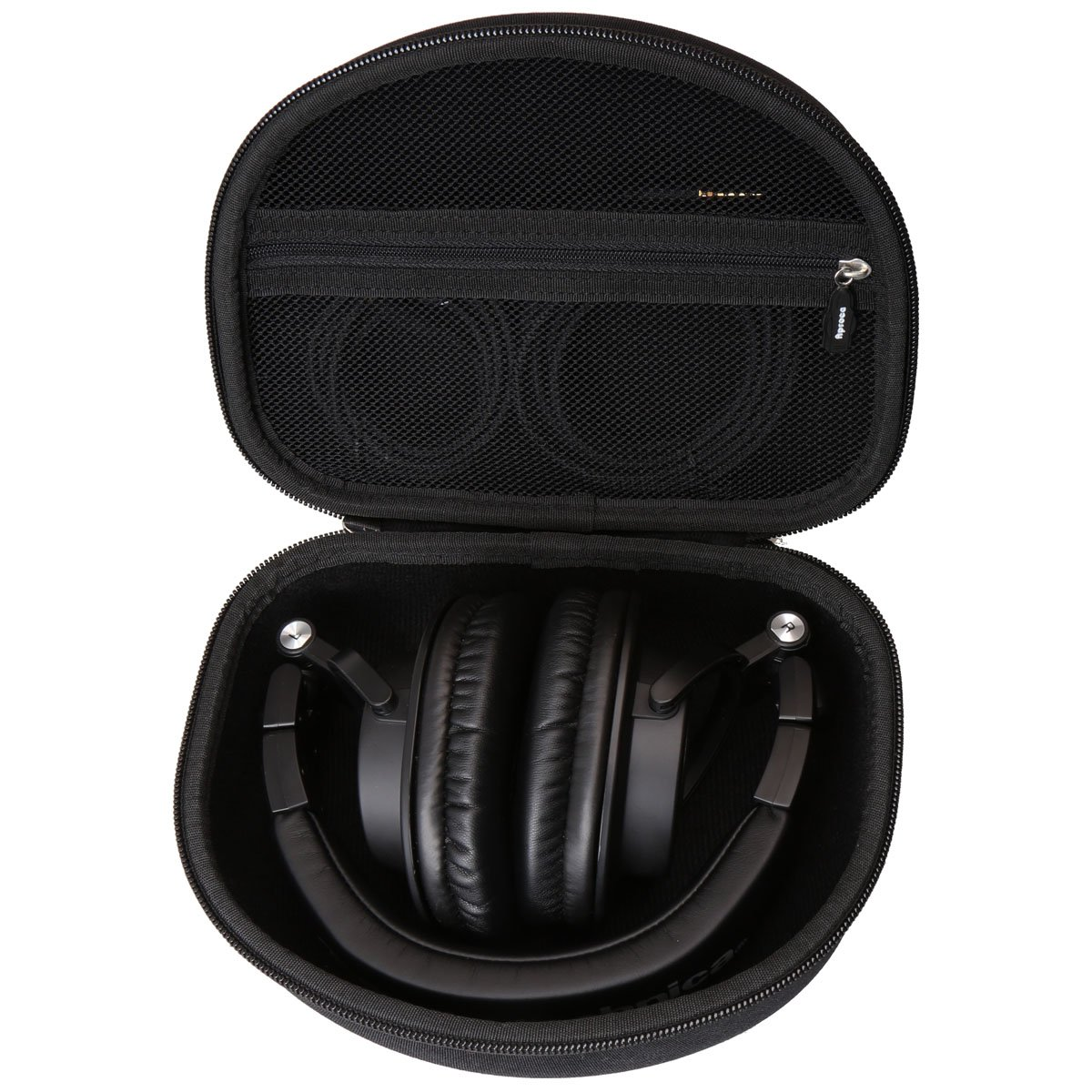Hard Carry Travel Bag Case Compatible Audio Technica Ath M50x M40x Monitoring Headphone Professional Monitor Headphones M50xmg M30x M70x By Aproca Black