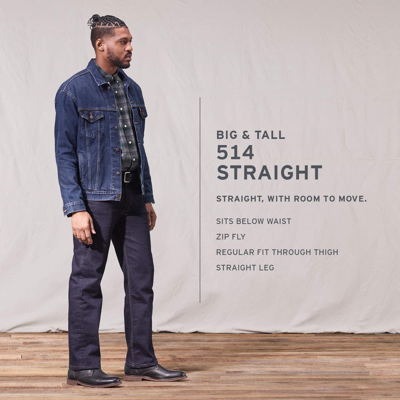 05082758da8 Amazon.com  Levi s Men s Big and Tall 514 Straight-Fit Jean  Clothing