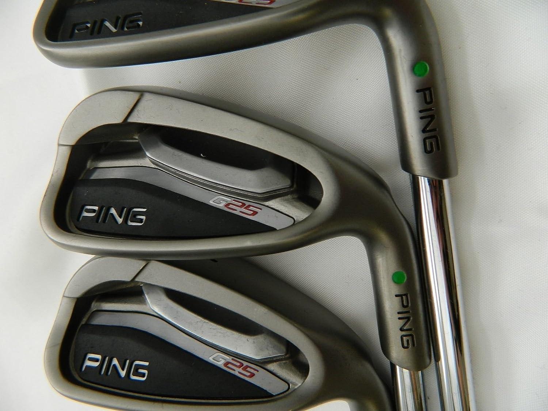 Ping G25 hierro juego 4-PW, para diestros, acero, stiff flex ...