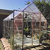 Amazon.com : Palram Snap & Grow Greenhouse - 6' x 8