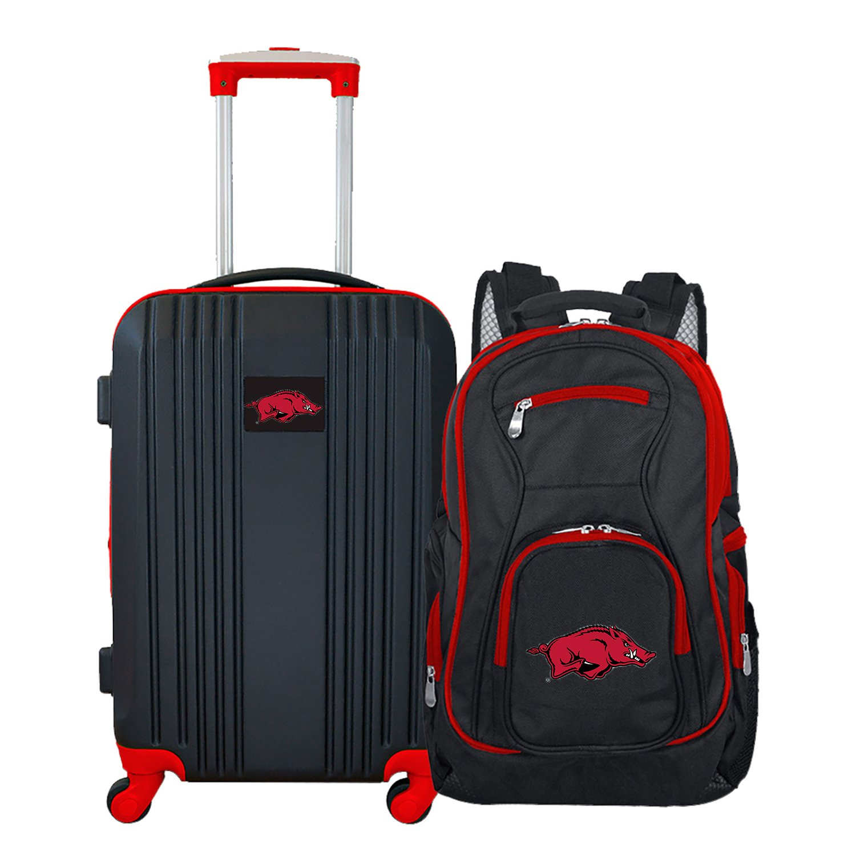 NCAA Arkansas Razorbacks 2-Piece Luggage Set