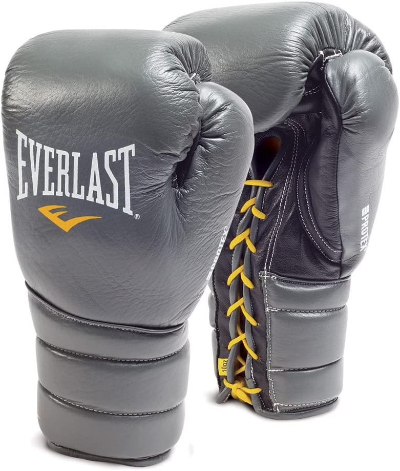 Everlast protex3 Professional Fight Gloves グレー 10oz