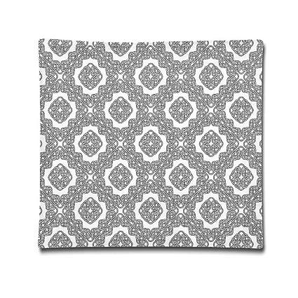 Omgaa - Funda de almohada geométrica diagonal simétrica de ...