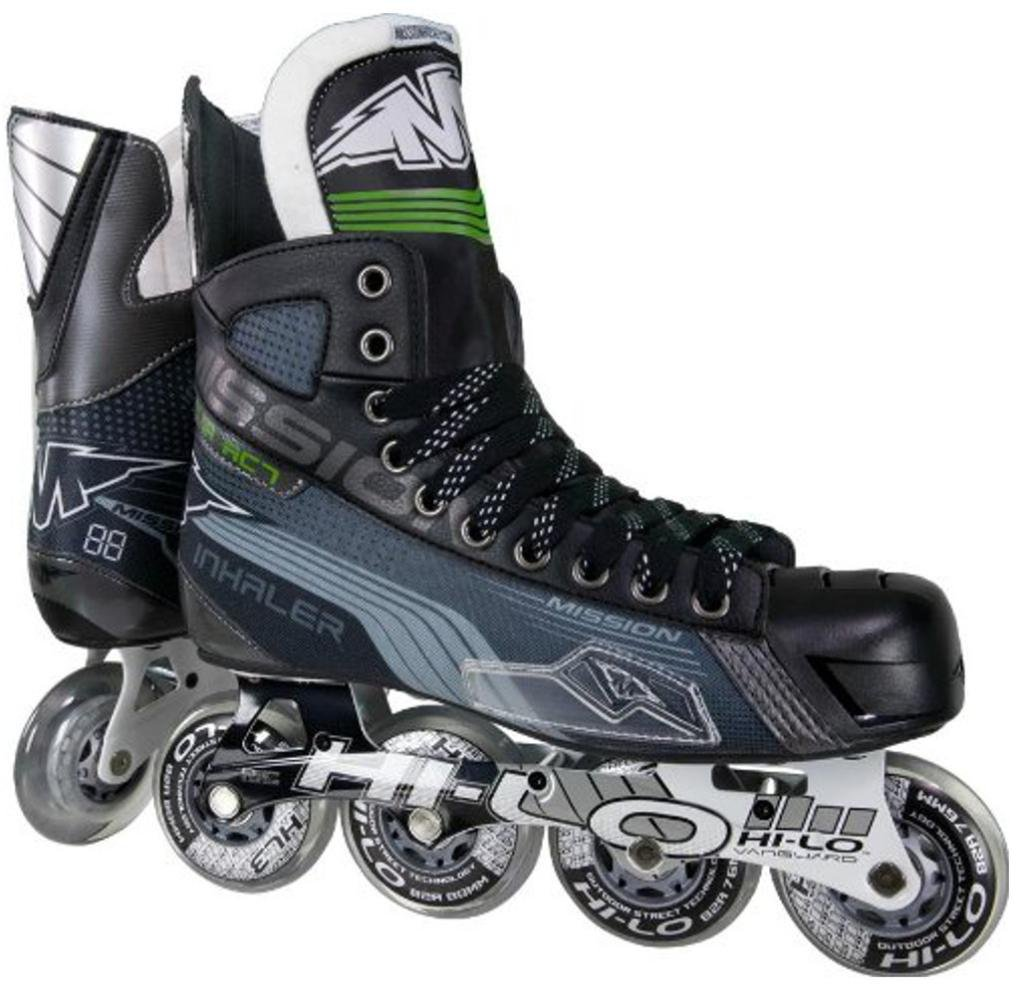 Mission Inhaler AC7 Youth Inline Hockey Skates, E
